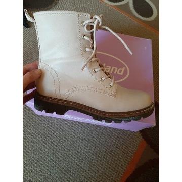 Buty marki Graceland, beżowe, rozmiar 37
