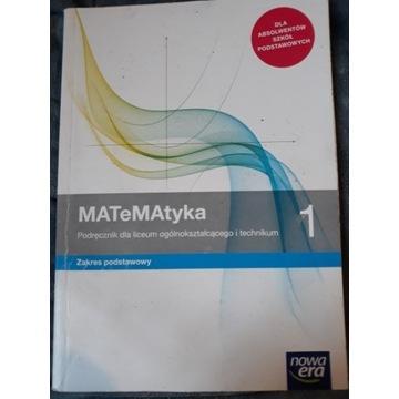 MaTeMatyka 1 podręcznik nowa era