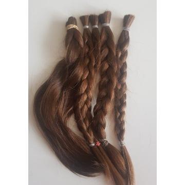 włosy dziewicze dł.34cm, 144gr
