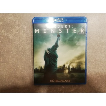 Project monster aka Cloverfield Blu-ray PL