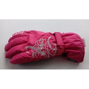 Rękawice narciarskie damskie Viking rozm. 6 różowe