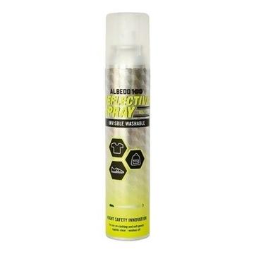 Albedo 100 odblaskowy spray do ubrań 140 ml