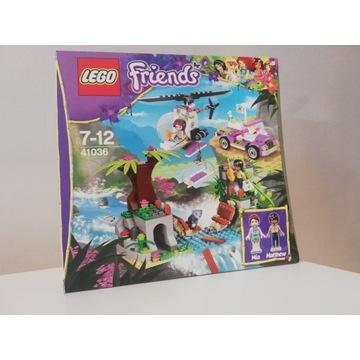 Lego 41036 Friends Ratunek Niedźwiadka