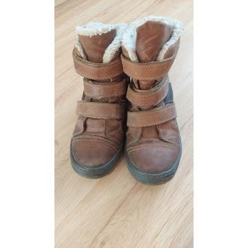 Buty zimowe, kozaki, skórzane Lasocki 33 rozmiar