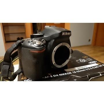 Lustrzanka Nikon D5200, grip, baterie, stan bdb