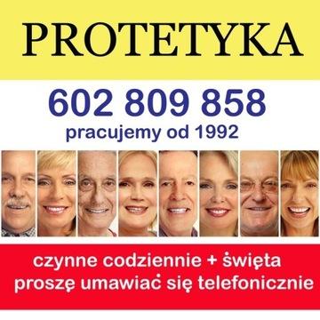 naprawa protezy zębowej