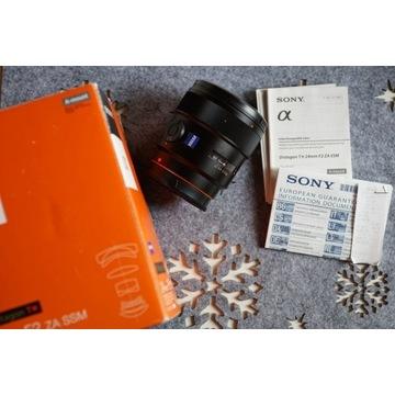 Obiektyw Sony A 24mm F2 ZA SSM Zeiss Distagon T*
