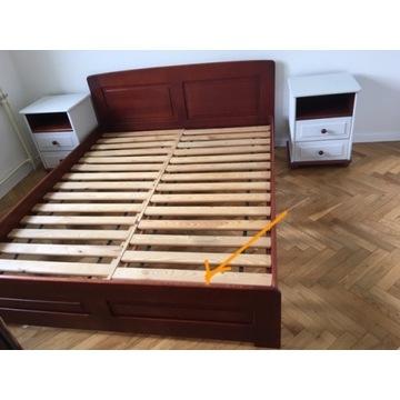 Komplet sypialniany - lite drewno !!