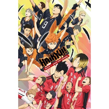 Plakat z anime/ mangi Haikyuu to the top A3 tanio