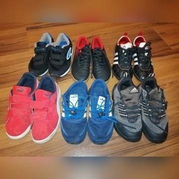 8 par adidasy halówki turfy sandały tenisówki
