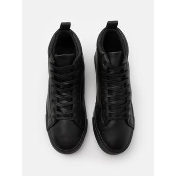 Nowe buty PierOne Sneakersy wysokie czarne rozm 42
