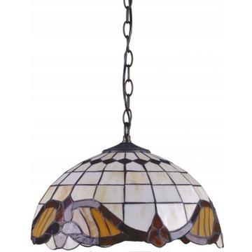 Lampa wisząca typu witraż - stan idealny