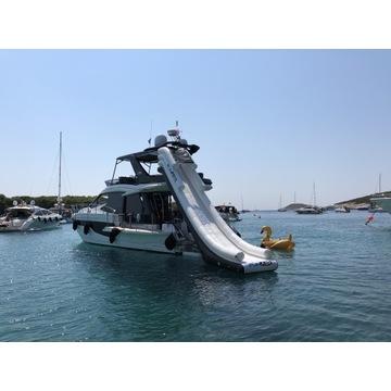 Zjeżdżalnia Fun Air do jachtu basenu pomostu