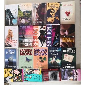 Zestaw książek mix różne tytuły paczka kolekcja
