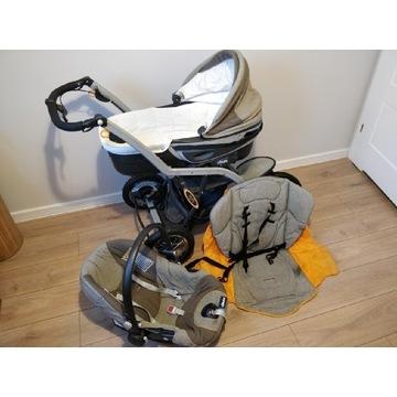 Wózek Chicco S3 3w1 gondola/nosidełko/spacerówka
