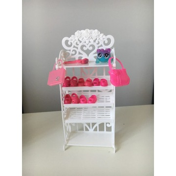 Garderoba półki szafa na buty Barbie, dostawa z Pl