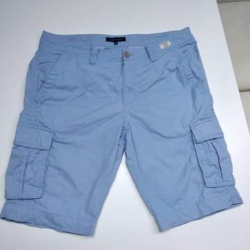 Spodenki cargo Tommy Hilfiger XXL / W36 baby blue