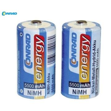 Akumulator C R14 NiMH Conrad Energy 5500 mAh 2szt