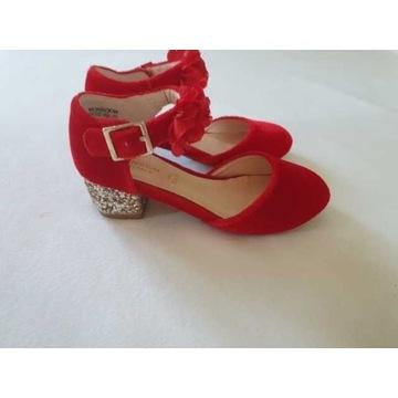 Monsoon r. 26 buty na obcasie dla dziewczynki