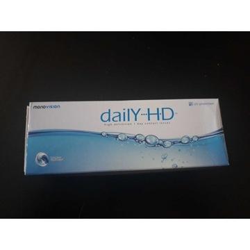 Nowe soczewki -5,00 Daily HD 30 sztuk, do 2025 r