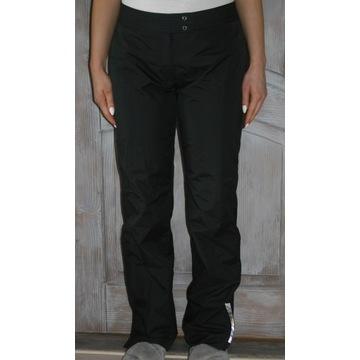 Czarne sportowe spodnie do snowboardu DKNY