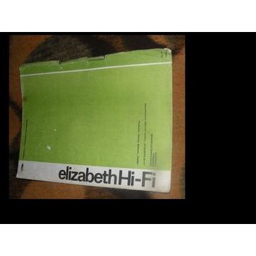 SCHEMAT  SERWISOWY radia ELIZABETCH