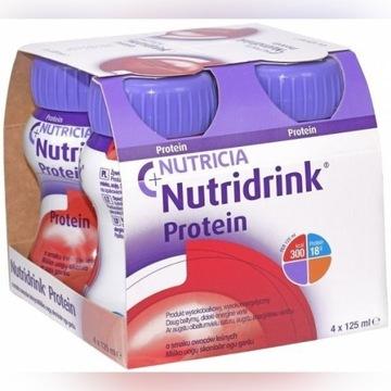 Nutridrinki protein zestaw 12x125 ml różne smaki