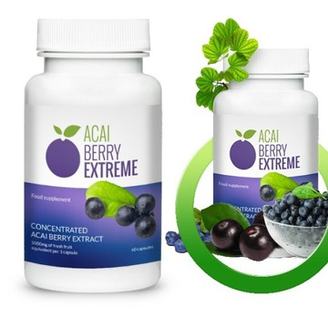 Tabletki na odchudzanie Acai Berry Extreme
