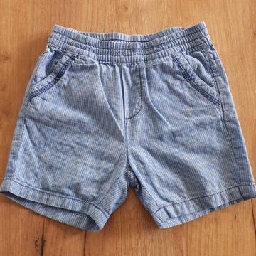 spodnie, spodenki, Cool Club, rozmiar 80