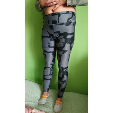 Nike fajne legginsy  L bdb