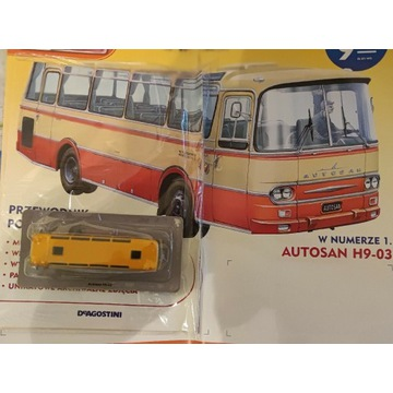 Kultowe autobusy PRL.   AUTOSAN H9-03