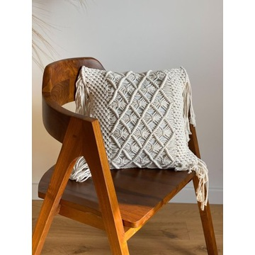 Poszewka na poduszkę makrama handmade DREAM boho