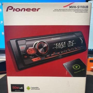 RADIO SAMOCHODOWE PIONEER MVH-S110UB