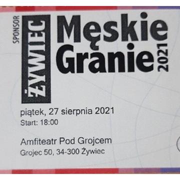 Bilet Męskie Granie 27.08.2021 Żywiec