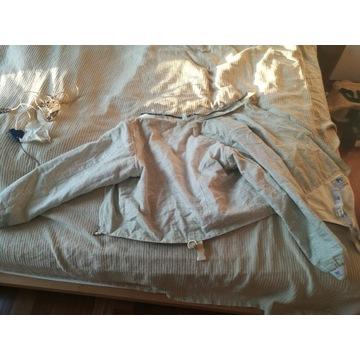 Bluza elektr szermierka szabla rozm 170 + kable