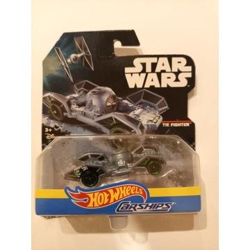 TIE FIGHTER autko Hot Wheels Star Wars Carship