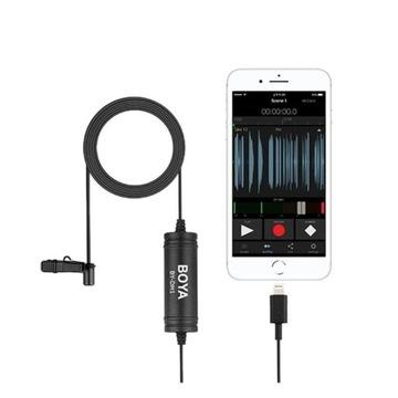 BOYA BY-DM1 Mikrofon krawatowy do iPhone, iPad