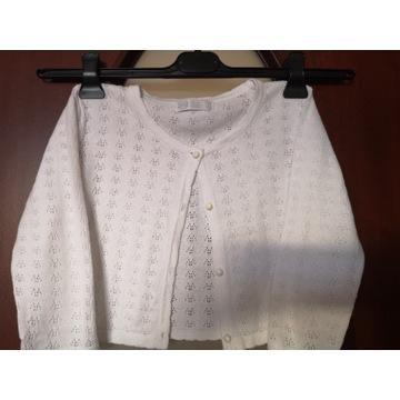 Ażurowe bolerko sweterek dla dziewczynki rozm. 158