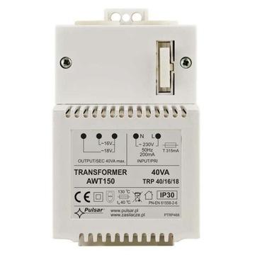 AWT150 - Transformator sieciowy 40VA/16V/18V