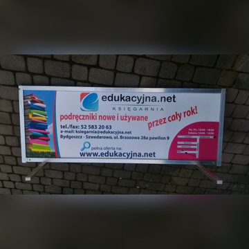 Reklama na bagażnik dachowy
