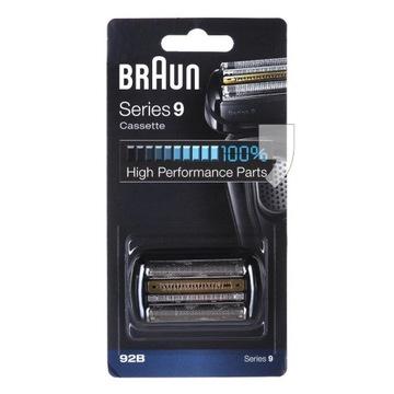 Braun Folia + Blok ostrzy 92B Series 9 Cassette