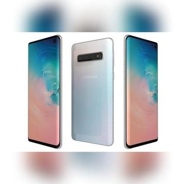 Smartfon Samsung Galaxy S10 8/128GB biały KMKI.PL