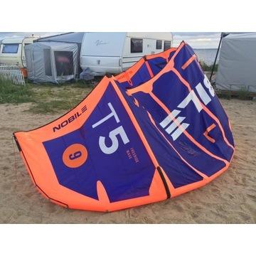Latawiec kitesurfing kite Nobile T5 9m