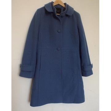 Płaszcz damski trencz rozmiar M 80% wełna