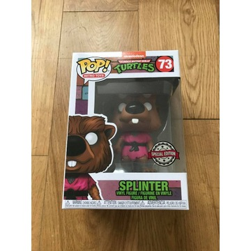 Funko POP Splinter TMNT Retro 73 Special Edycja