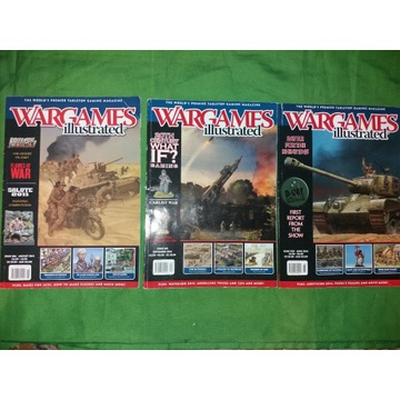 Wargames Illustrated 3 szt.
