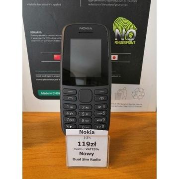 Nokia 105 Nowa +gratis