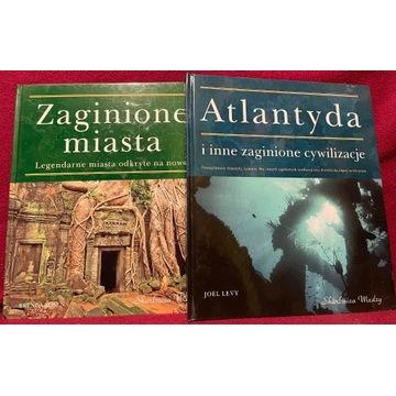 Atlantyda/Zaginione Miasta - 2 tomy wyd. Skarbnica