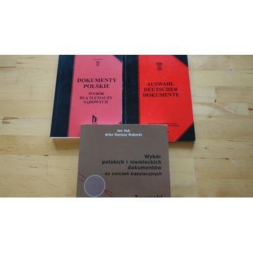 Pakiet - tłumaczenie dokumentów niemiecki