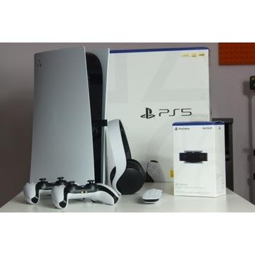 FULL ZESTAW Sony PlayStation 5 +akcesoria